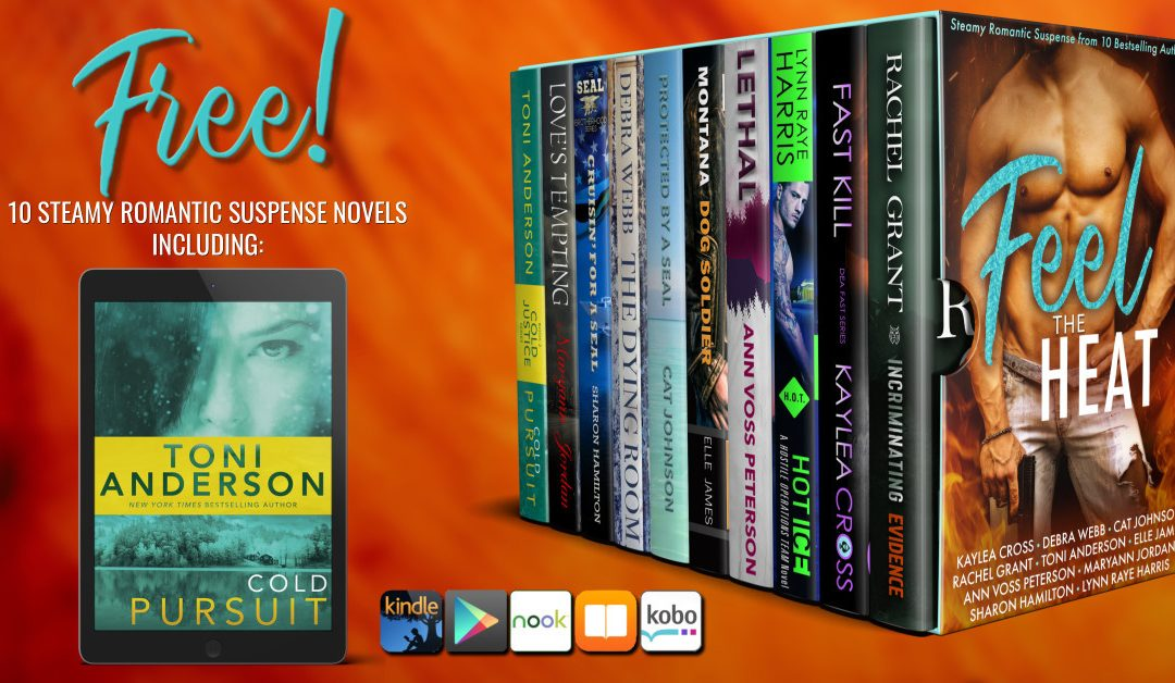 DOWNLOAD FOR FREE-10 steamy romantic suspense novels by bestselling and award-winning authors