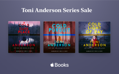 Get each of the Cold Justice Series audiobooks for $4.99 or less!